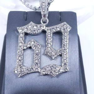 """🧡 Icy 69 Pendant + 24"""" Rope Chain"""